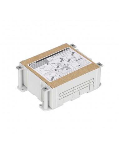 Cubeta regulable para suelo de pavimento S500, 2 módulos. Profundidad regulable 80-115 mm
