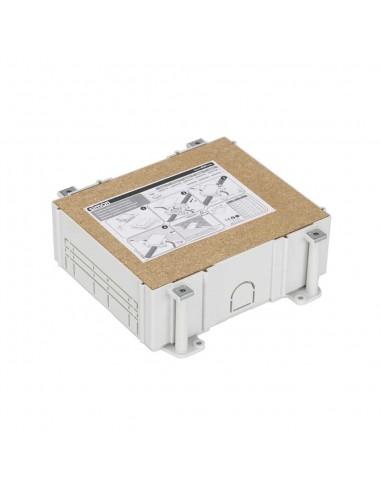 Cubeta regulable para suelo de pavimento S500, 3 módulos. Profundidad regulable 80-115 mm