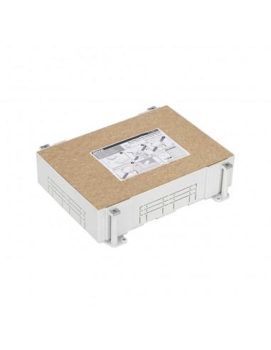 Cubeta regulable para suelo de pavimento S500, 6 módulos. Profundidad regulable 80-115 mm