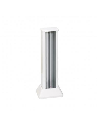 Minicolumna Simon 500 1 cara 3 módulos, blanco