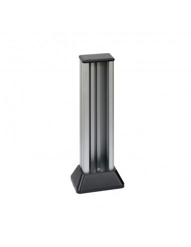 Minicolumna Simon 500 1 cara 3 módulos, aluminio