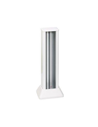 Minicolumna Simon 500 2 caras 3 módulos, blanco