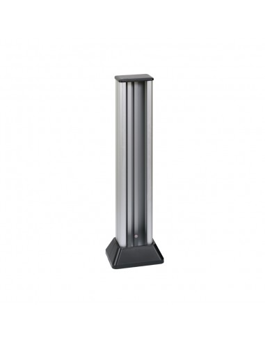 Minicolumna Simon 500 2 caras 4 módulos, aluminio