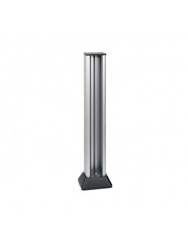 Minicolumna Simon 500 2 caras 5 módulos, aluminio