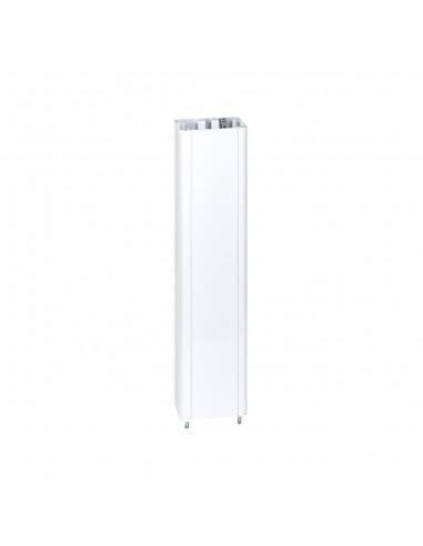 Prolongación columna Simon 500 Cima 1 cara de 0.5 m, blanco