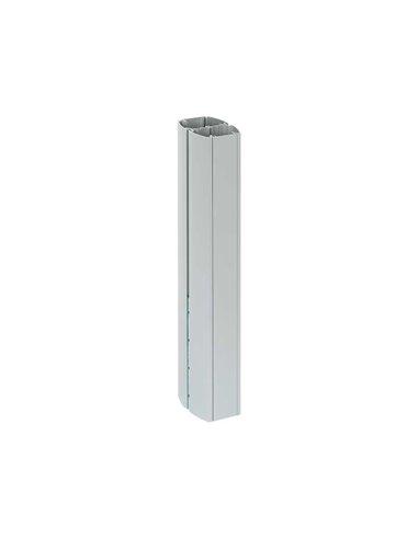 Prolongacion columna K45 dos caras ovalada de 0.5m