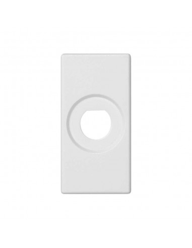 Placa 45x22.5 para 1 conector BNC