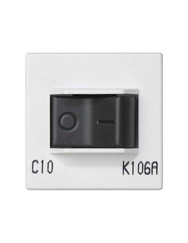 Placa K45 con magnetotérmico 10A