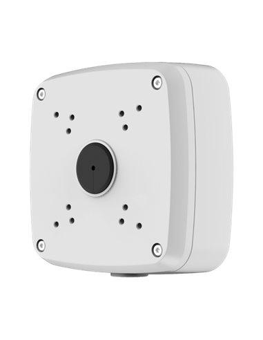 Caja de conexiones para cámaras bullet - Metálico - 135 mm (Al) x 135 mm (diámetro base)