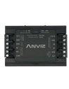 Controladora independiente. Entrada para lector Wiegand/Anviz - Entrada pulsador de apertura y salida relay - DC 12V