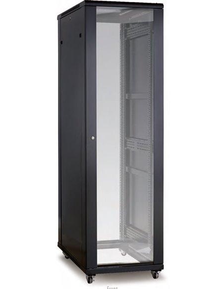 Armario Avant, 42U, 600x600, puertas de cristal