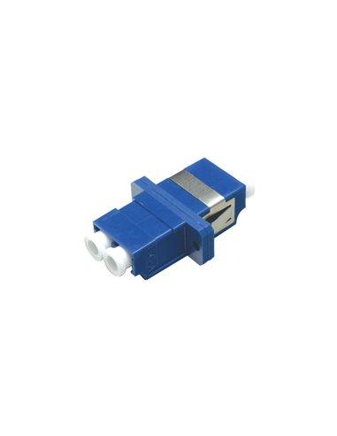 Acoplador LC monomodo duplex (azul)