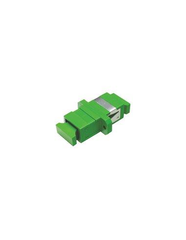 Acoplador SC/APC monomodo simplex (verde)