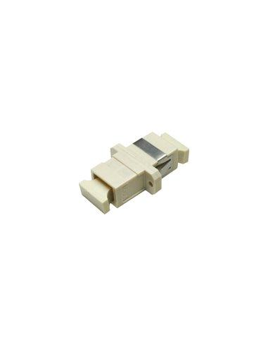 Acoplador SC multimodo simplex (beige)