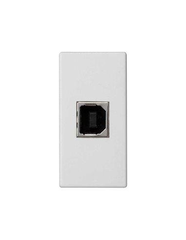 Placa K45 con conector USB tipo B