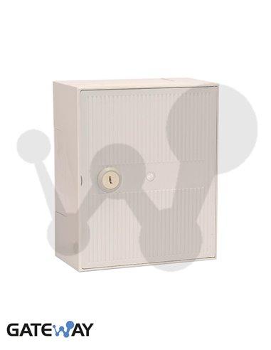 Caja de distribucion interior 30 pares con soporte para regletas