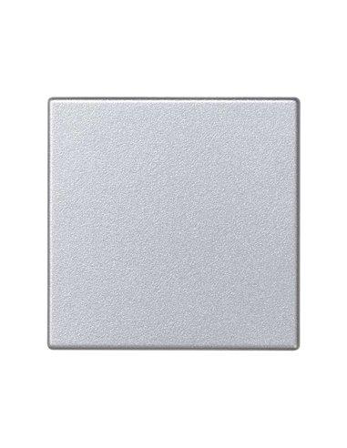 Placa ciega K45, color aluminio