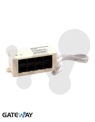 Multiplexor pasivo para 8 salidas RJ45. ICT