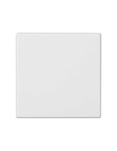 Placa ciega K45, blanco