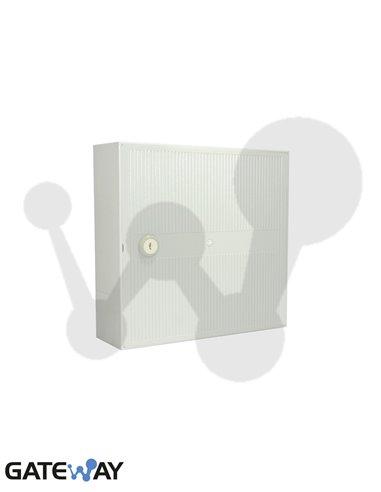 Caja de distribucion interior 50 pares con soporte para regletas