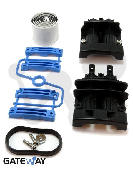 Kit de entrada de cables doble ECAM D20 (5-20 mm)