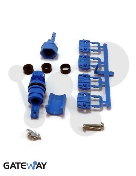 Kit de entrada de cables simple ECAM S4-12 (4-12 mm)