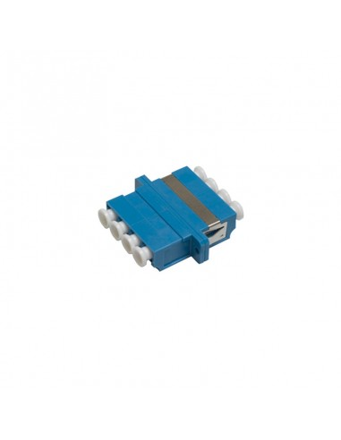 Acoplador LC monomodo cuadruplex (azul)