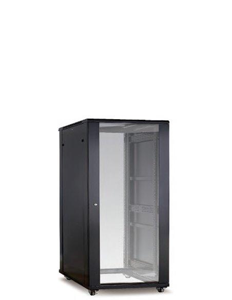 Armario Avant, 24U, 600x600, puerta de cristal