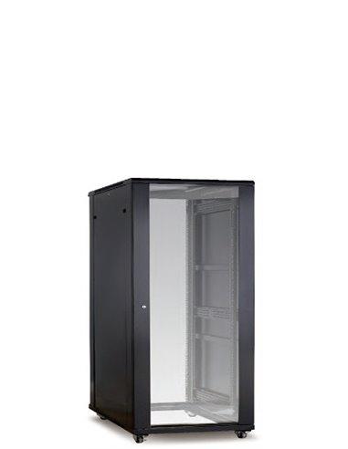 Armario Avant, 24U, 600x1000, puerta de cristal