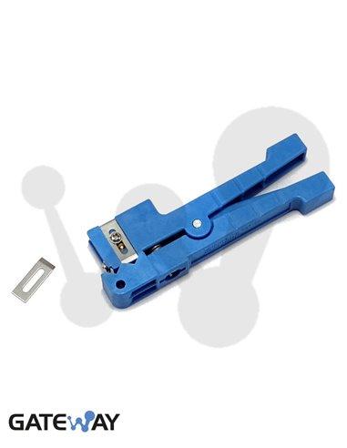 Cortadora de tubo holgado tipo Ideal azul