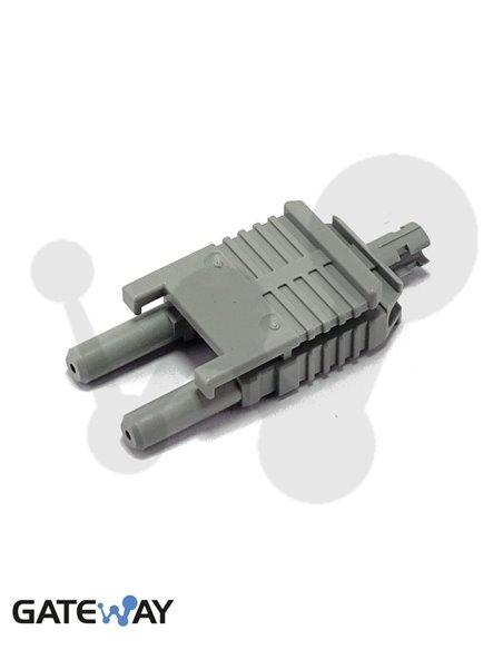Conector fibra plástica Vlink 2x1mm