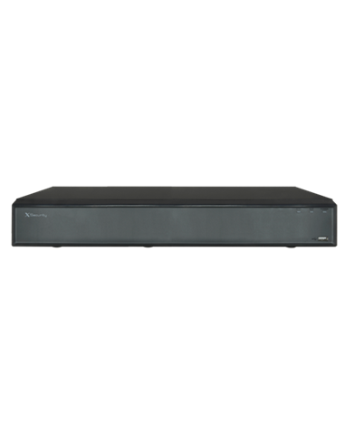 X-Security NVR 16ch 200 MBPS HDMI 4K 2HDD 16 POE