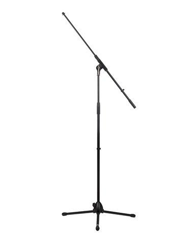 Pie de micrófono con de 3 patas plegables y brazo jiraja 95 cm.