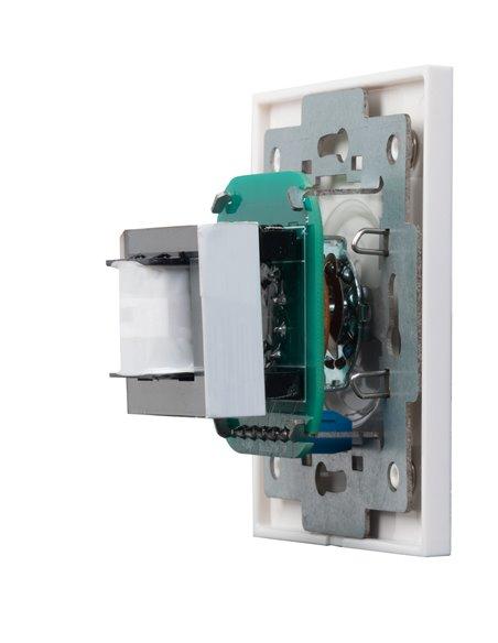 Atenuador de 60 W máximo para línea 100 V. Entrada de 2 hilos y sistemas con prioridad de 3 y 4 hilos