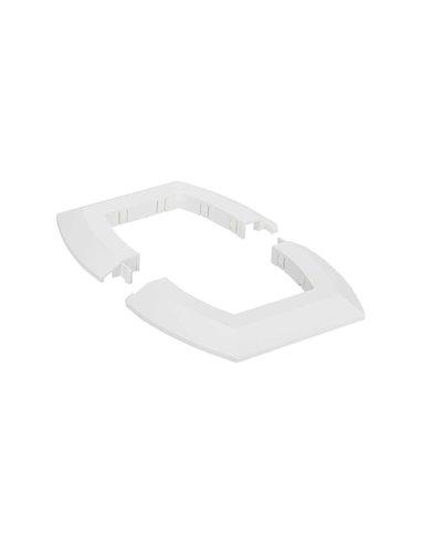 Anillo embellecedor para falso techo columna 2 caras ovalada ALK7200/8