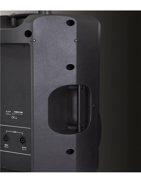 Altavoz alta potencia con caja de inyección 180 W RMS, 360 W máximo