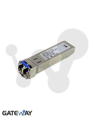 Transceiver SFP+, 10GBase-LR, monomodo, 10 Km. DOM