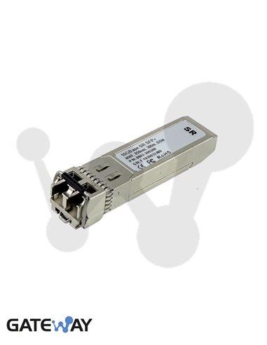 Transceiver SFP+, 10GBase-SR, multimodo OM3, 300 m. DOM Compatible HP
