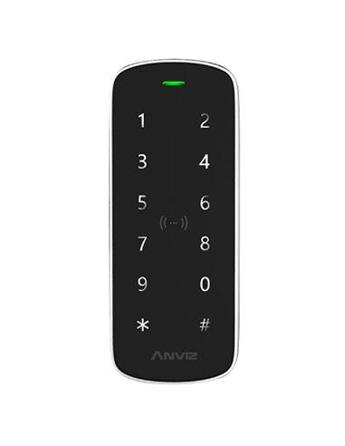 Lector autónomo de accesos Dual - Identificación por teclado y/o tarjeta EM y Mifare. Antivandálico, contoladora integrada