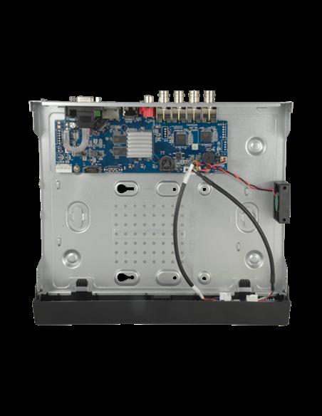 DVR 5n1 - 8 CH + 4 IP, full 720p (25fps) 1080p (12fps), 1 Audio, PTZ. Reconocimiento facial. HDD no incluido.