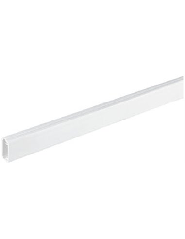 Mini canal PVC 10x22mm de 1 compartimento