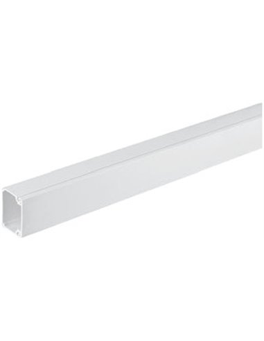 Mini canal PVC 20x30mm de 1 compartimento
