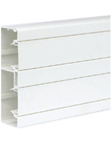 Canal PVC 160x55mm K45 de 2 compartimentos