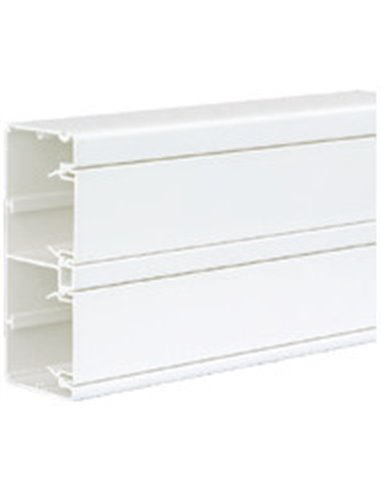 Canal PVC 130x55mm K45 de 2 compartimentos