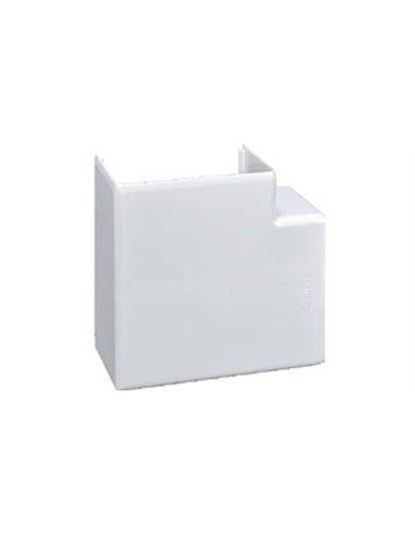 Canal PVC 90x55mm: Angulo plano