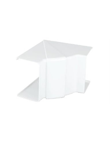 Canal PVC 90x55mm: Angulo interior variable