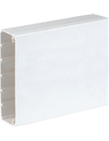 Canal PVC pasacables 185 x 55 mm