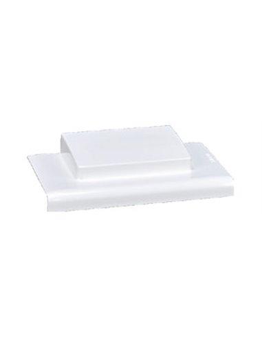 Canal PVC 90x55mm: Derivación en T a minicanal