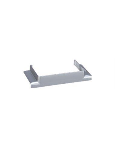 Canal Aluminio 90x55mm: Derivación en T a canal