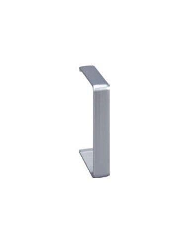 Canal Aluminio 90x55mm: Tapa juntas